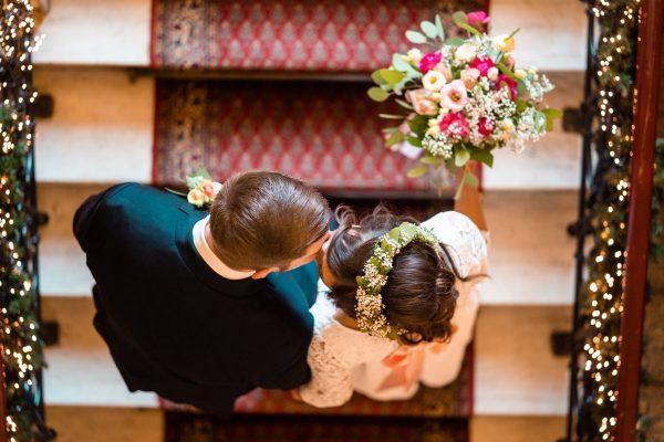 Hochzeitsfotograf Witten - Hochzeitsreportage Schloss Steinhausen